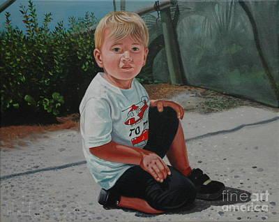 Painting - Kai by Michael Nowak