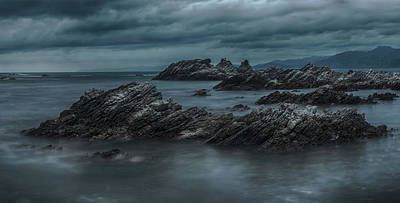 Photograph - Kaikoura Cliffs by Martin Capek