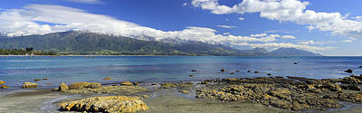 Photograph - Kaikoura Panorama by Peter Kennett