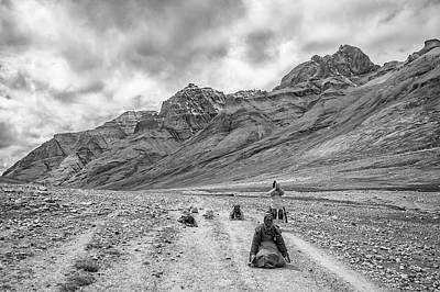 Photograph - Kailash Kora 2 by Hitendra SINKAR