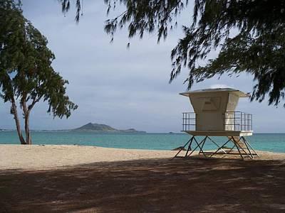 Kailua Beach Art Print