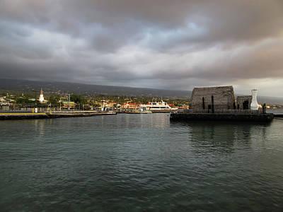 Photograph - Kailua Kona by Pamela Walton