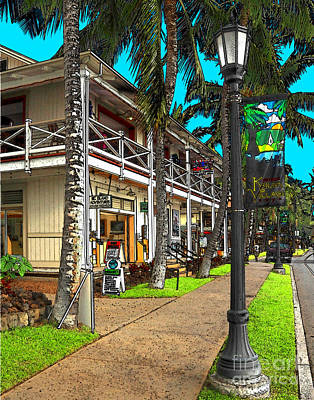 Photograph - Kailua Village - Kona Hawaii by James Eddy