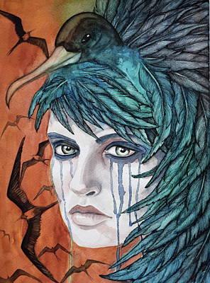 Iwa Painting - Ka'iwa 3 by Kimberly Kirk