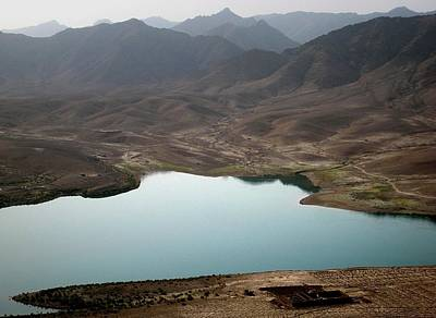 Military Photograph - Kajaki Lake In Helmand Province Afghanistan by Jetson Nguyen