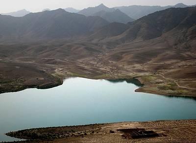 Kajaki Lake In Helmand Province Afghanistan Art Print by Jetson Nguyen