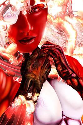 Kaji From Tokyo Evolved Original by Claude-Robert Policart