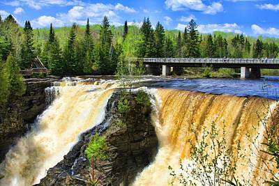 Photograph - Kakabeca Waterfall Ontario by Tatiana Travelways
