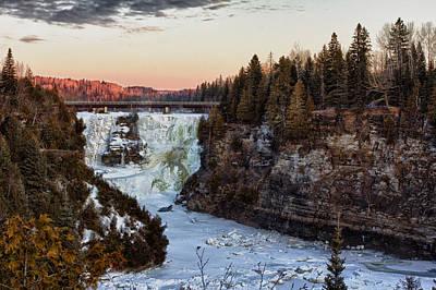 Voyageurs Photograph - Kakabeka Falls by Jakub Sisak