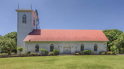 Photograph - Kalahikiola Church by Susan Rissi Tregoning