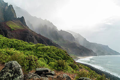 Photograph - Kalalau Beach by Brian Harig