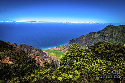 Photograph - Kalalau Lookout Koke'e State Park Kauai Hawaii by Blake Webster
