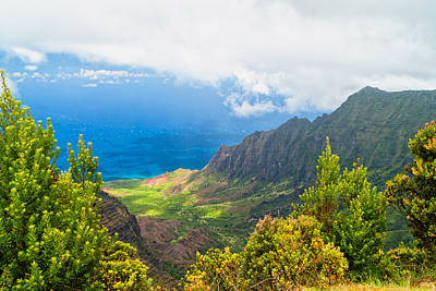 Photograph - Kalalau Valley 2 by Brian Harig