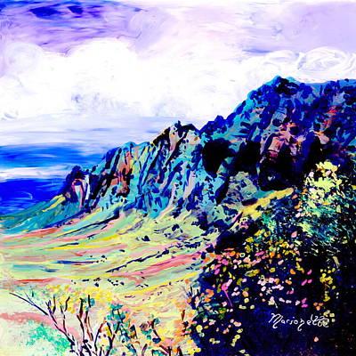 Painting - Kalalau Valley 4 by Marionette Taboniar