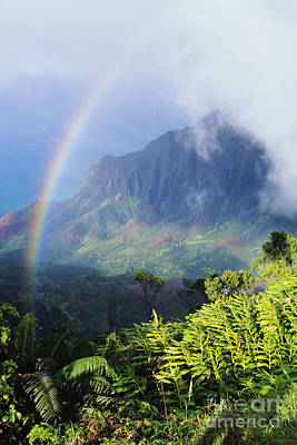 Photograph - Kalalau Valley by Brent Black - Printscapes