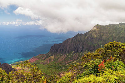 Photograph - Kalalau Valley by Brian Harig