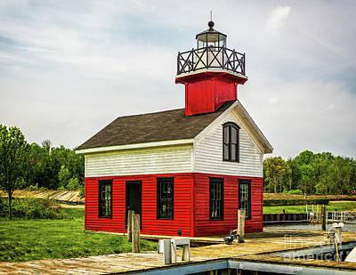 Photograph - Kalamazoo Lighthouse by Nick Zelinsky