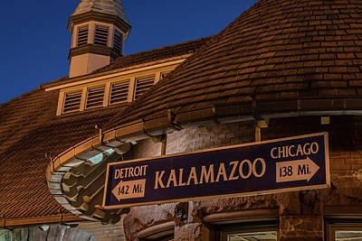 Kalamazoo Transportation Center Art Print