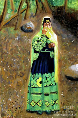 Kalash Painting - Kalash Beauty by Zohaib Ahmed