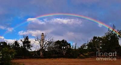 Photograph - Kalaupapa Light Rainbow by Craig Wood