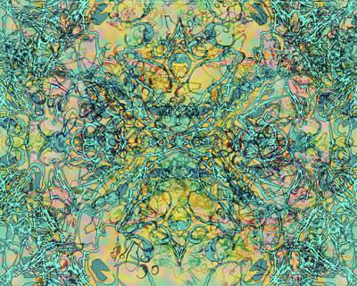 Digital Art - Kaleid 8 by Kristin Doner