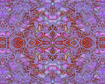 Digital Art - Kaleid Abstract Focus by Kristin Doner