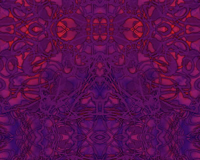 Digital Art - Kaleid Abstract Vision by Kristin Doner