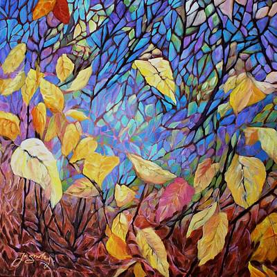 Painting - Kaleidescope by Joanne Smoley