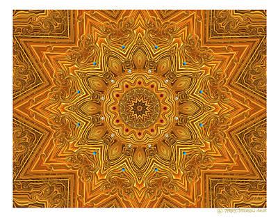 kaleido Prf10 X7x 17b Art Print by Terry Anderson