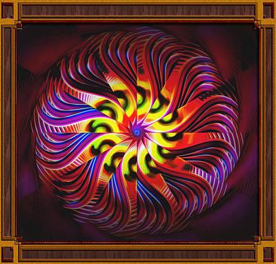 Digital Art - Kaleido Supreme by Mario Carini