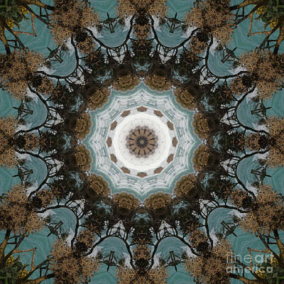 Motif Digital Art - Kaleidoscope 089 by Paul Gillard