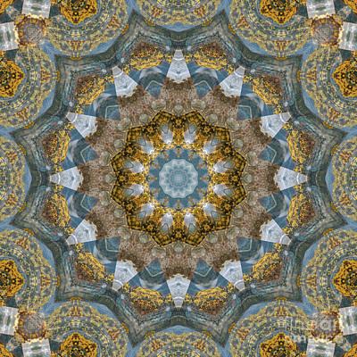 Mind Bending Digital Art - Kaleidoscope 090 by Paul Gillard