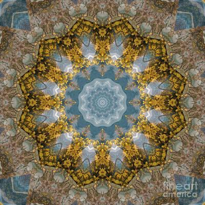 Mind Bending Digital Art - Kaleidoscope 091 by Paul Gillard