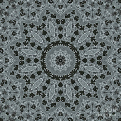 Moorish Digital Art - Kaleidoscope 094 by Paul Gillard