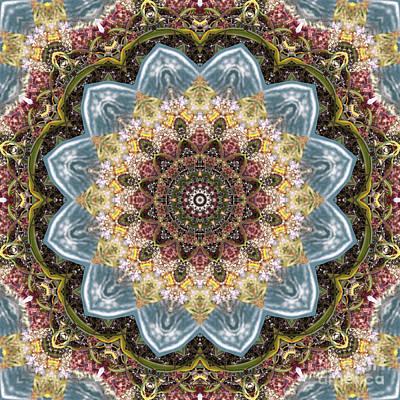 Mind Bending Digital Art - Kaleidoscope 095 by Paul Gillard