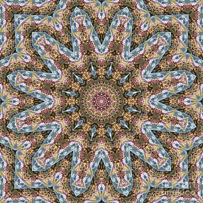 Mind Bending Digital Art - Kaleidoscope 096 by Paul Gillard