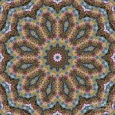 Mind Bending Digital Art - Kaleidoscope 098 by Paul Gillard