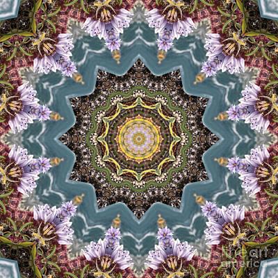 Mind Bending Digital Art - Kaleidoscope 099 by Paul Gillard
