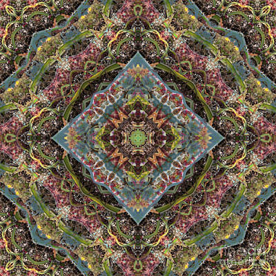 Mind Bending Digital Art - Kaleidoscope 101 by Paul Gillard
