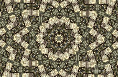 Digital Art - Kaleidoscope 102 by Ron Bissett