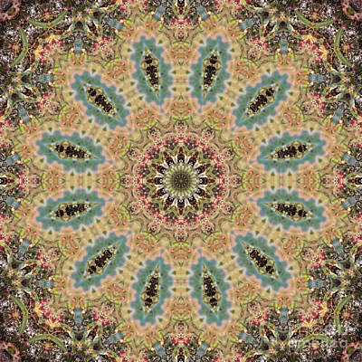 Mind Bending Digital Art - Kaleidoscope 103 by Paul Gillard