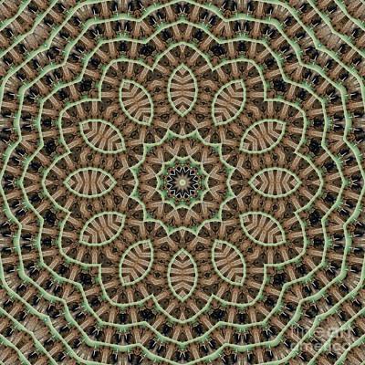 Mind Bending Digital Art - Kaleidoscope 105 by Paul Gillard
