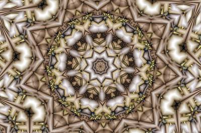 Digital Art - Kaleidoscope 107 by Ron Bissett