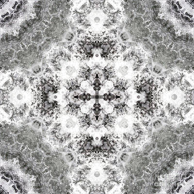 Motif Digital Art - Kaleidoscope 108 by Paul Gillard