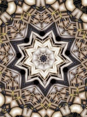 Digital Art - Kaleidoscope 110 by Ron Bissett