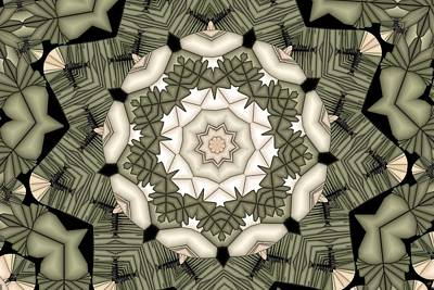 Digital Art - Kaleidoscope 113 by Ron Bissett