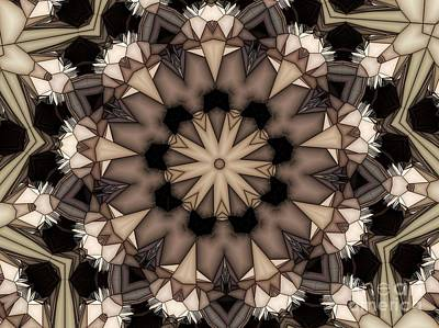 Digital Art - Kaleidoscope 114 by Ron Bissett