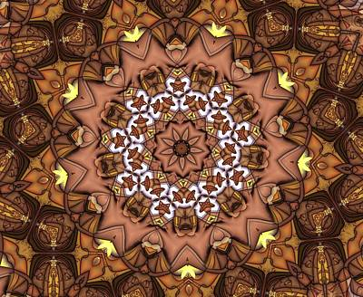 Digital Art - Kaleidoscope 115 by Ron Bissett
