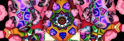 Digital Art - Kaleidoscope 120 by Ron Bissett