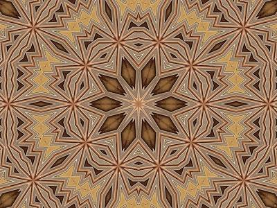 Digital Art - Kaleidoscope 122 by Ron Bissett